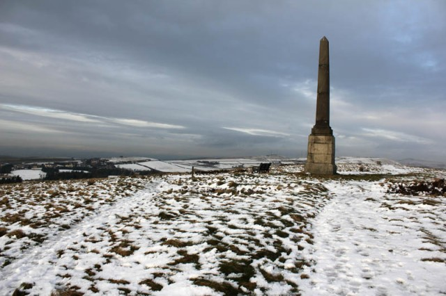 Monument on Wotherhead Hill